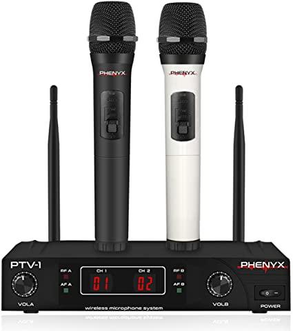 Phenyx Pro VHF Cordless Mic Set