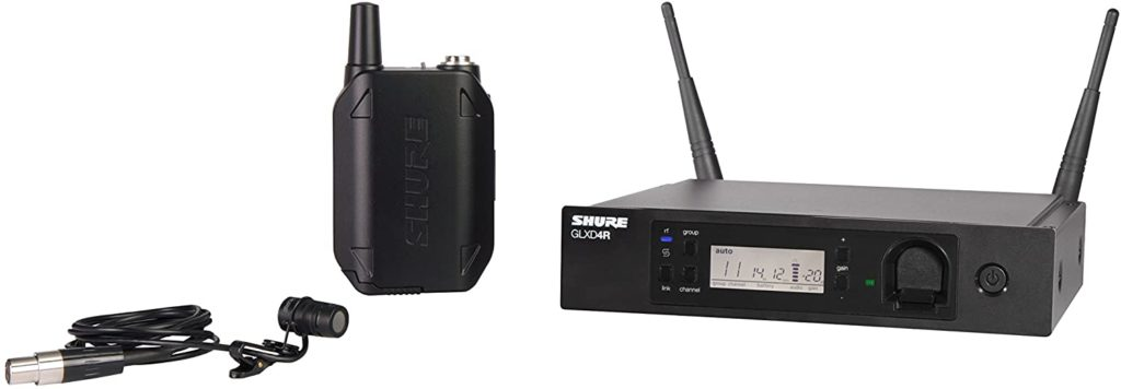 Shure GLXD14R/85-Z2 Lavalier Wireless Microphone System
