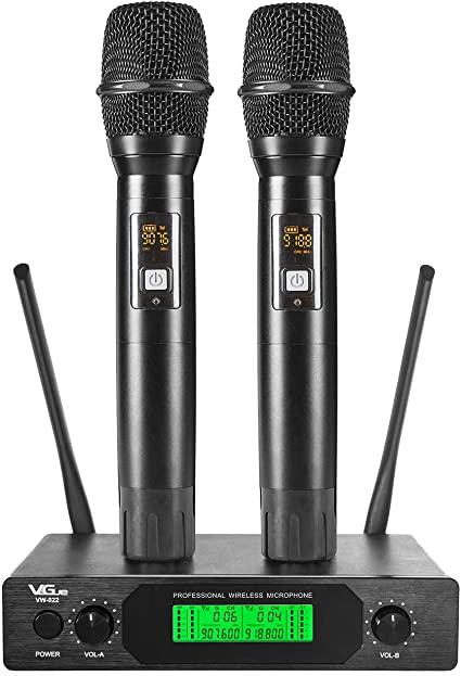UHF Wireless Microphone, VeGue Dual Pro